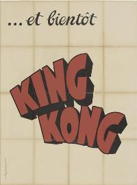 King Kong - 11 x 17 Movie Poster - French Style A