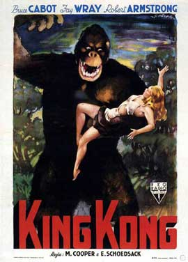 King Kong - 11 x 17 Movie Poster - Style Q