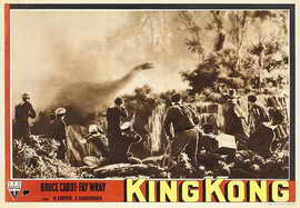 King Kong - 11 x 14 Movie Poster - Style F