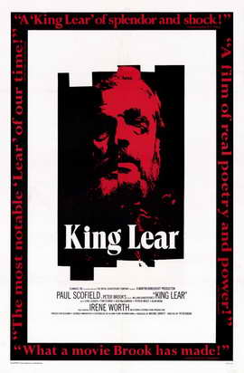 King Lear - 11 x 17 Movie Poster - Style A