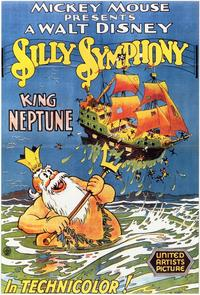 King Neptune - 11 x 17 Movie Poster - Style A