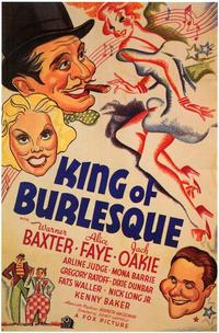 King of Burlesque - 43 x 62 Movie Poster - Bus Shelter Style A