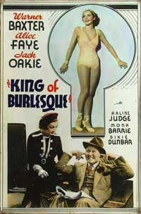 King of Burlesque - 11 x 17 Movie Poster - Style B