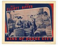 King of Dodge City - 11 x 14 Movie Poster - Style C