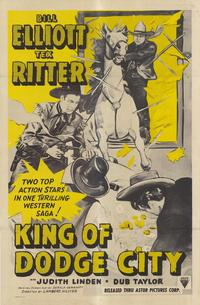 King of Dodge City - 11 x 17 Movie Poster - Style A