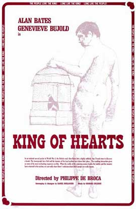 The King of Hearts - 11 x 17 Movie Poster - Style A