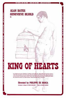 The King of Hearts - 27 x 40 Movie Poster - Style A