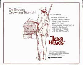 The King of Hearts - 22 x 28 Movie Poster - Half Sheet Style A