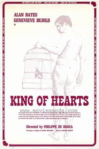 The King of Hearts - 43 x 62 Movie Poster - Bus Shelter Style A
