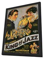King of Jazz - 11 x 17 Movie Poster - Style A - in Deluxe Wood Frame