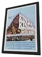 The King of Kings - 11 x 17 Movie Poster - Style B - in Deluxe Wood Frame