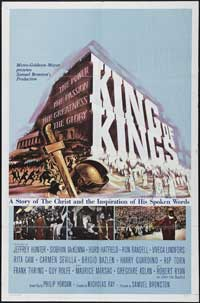 The King of Kings - 43 x 62 Movie Poster - Bus Shelter Style B