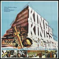 The King of Kings - 40 x 40 - Movie Poster - Style A