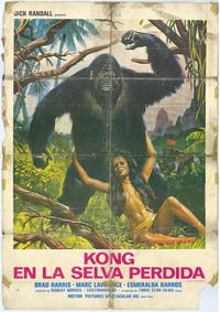 King of Kong Island - 27 x 40 Movie Poster - Spanish Style A