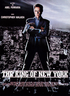King of New York - 11 x 17 Movie Poster - French Style A