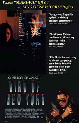 King of New York - 11 x 17 Movie Poster - Style A