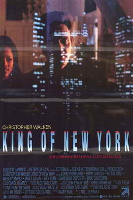King of New York - 11 x 17 Movie Poster - Style B