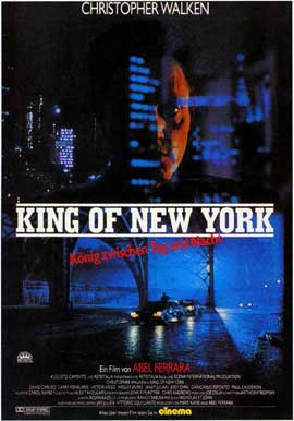 King of New York - 11 x 17 Movie Poster - German Style A