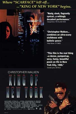 King of New York - 27 x 40 Movie Poster - Style A