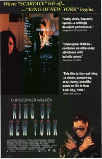King of New York - 43 x 62 Movie Poster - Bus Shelter Style A