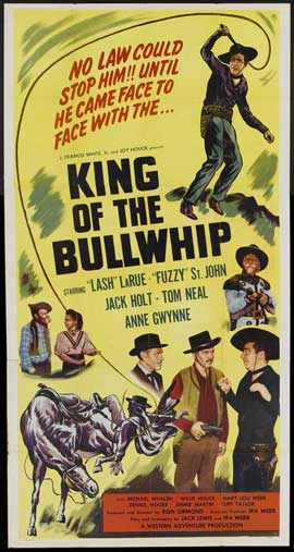King of the Bullwhip - 20 x 40 Movie Poster - Style A