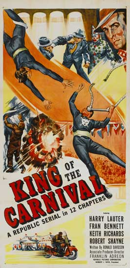 King of the Carnival - 20 x 40 Movie Poster - Style A