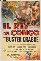 King of the Congo - 27 x 40 Movie Poster - Danish Style A