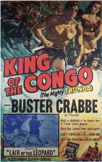 King of the Congo - 43 x 62 Movie Poster - Bus Shelter Style A