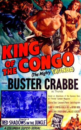 King of the Congo - 11 x 17 Movie Poster - Style B