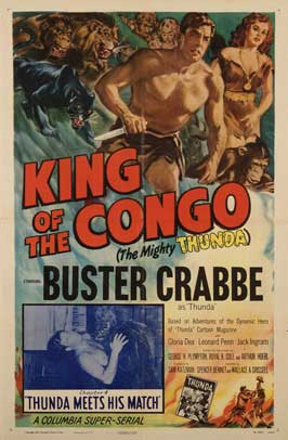 King of the Congo - 11 x 17 Movie Poster - Style C