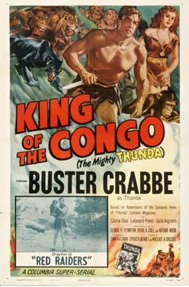 King of the Congo - 11 x 17 Movie Poster - Style E