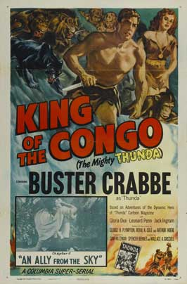 King of the Congo - 11 x 17 Movie Poster - Style F