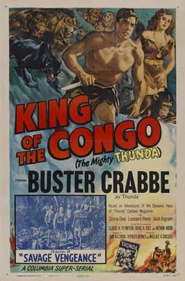 King of the Congo - 11 x 17 Movie Poster - Style G