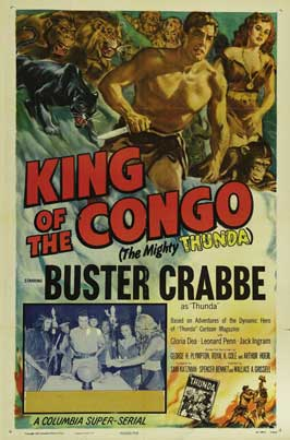 King of the Congo - 27 x 40 Movie Poster - Style F