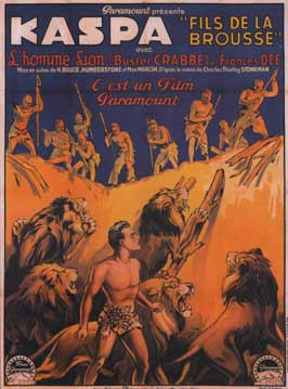 King of the Congo - 11 x 17 Movie Poster - French Style A