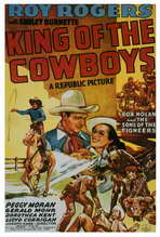 King of the Cowboys - 27 x 40 Movie Poster - Style A