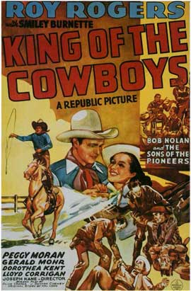 King of the Cowboys - 11 x 17 Movie Poster - Style A
