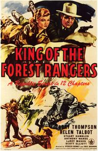 King of the Forest Rangers - 43 x 62 Movie Poster - Bus Shelter Style A