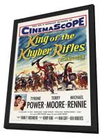 King of the Khyber Rifles - 11 x 17 Movie Poster - Style A - in Deluxe Wood Frame