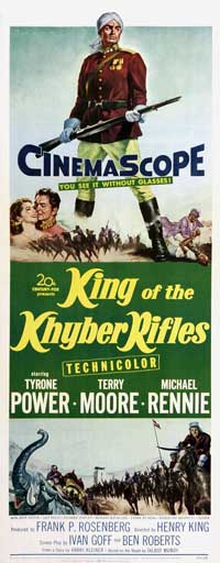 King of the Khyber Rifles - 14 x 36 Movie Poster - Insert Style A