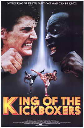 The King of the Kickboxers - 27 x 40 Movie Poster - Style B