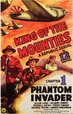 King of the Mounties - 27 x 40 Movie Poster - Style A