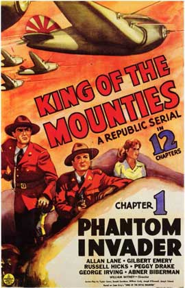 King of the Mounties - 11 x 17 Movie Poster - Style A