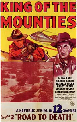 King of the Mounties - 11 x 17 Movie Poster - Style B