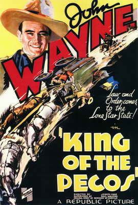 King of the Pecos - 27 x 40 Movie Poster - Style A