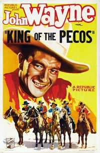 King of the Pecos - 43 x 62 Movie Poster - Bus Shelter Style B