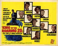 The King of the Roaring '20s: The Story of Arnold Rothstein - 22 x 28 Movie Poster - Half Sheet Style B