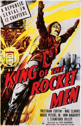 King of the Rocketmen - 11 x 17 Movie Poster - Style A
