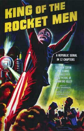 King of the Rocketmen - 11 x 17 Movie Poster - Style B
