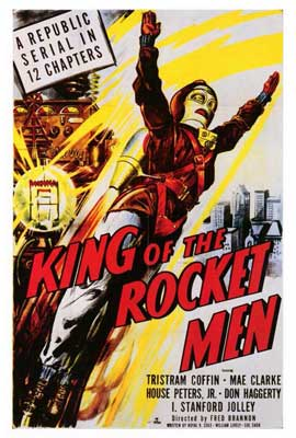 King of the Rocketmen - 27 x 40 Movie Poster - Style A